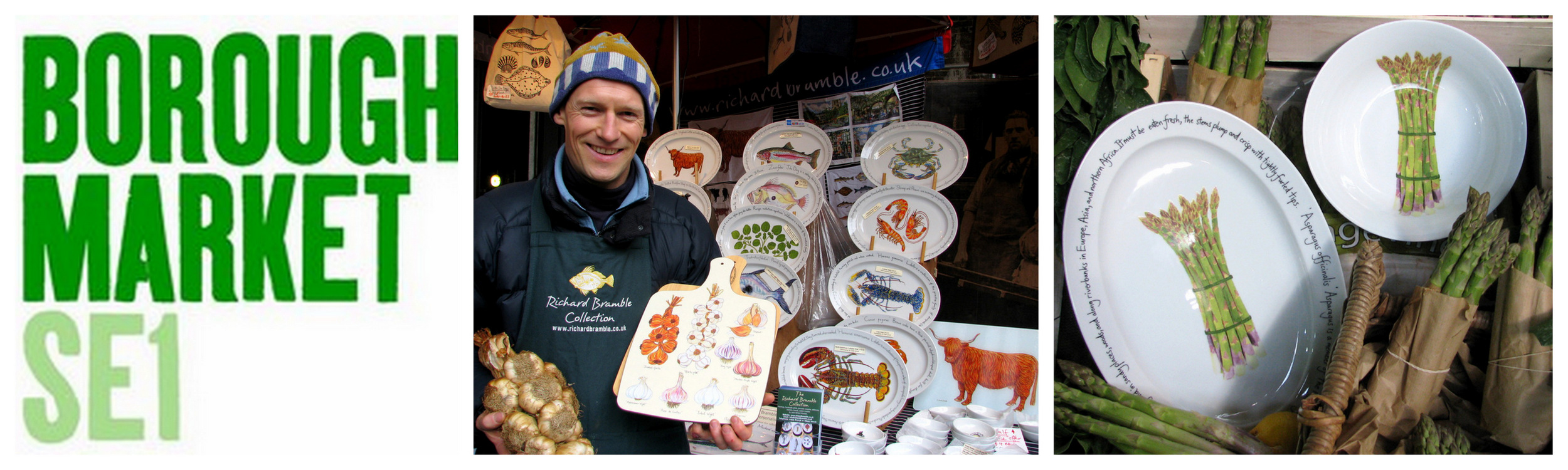 Richard Bramble at Borough Market
