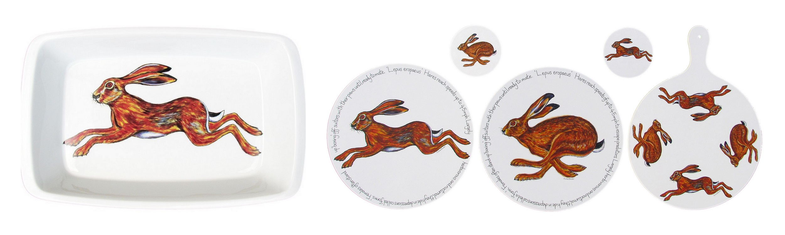 New Hares design Richard Bramble