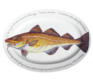 "Richard Bramble Cod 39cm Oval (15.4"") end of line"