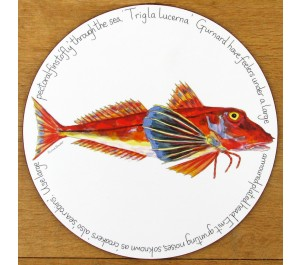Gurnard Tablemat by Richard Bramble