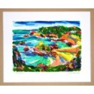 Richard Bramble Print Portelet Bay (loose), Jersey
