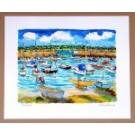 Richard Bramble Print St Aubins Harbour, Jersey