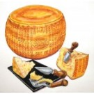 Parmesan Cheese Painting