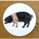 Richard Bramble Saddleback Pig Coaster