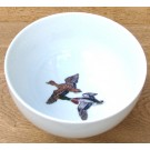 Richard Bramble Mallard Ducks 15cm Bowl made Jersey Pottery