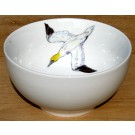 Gannet Diving 15cm Bowl by Richard Bramble