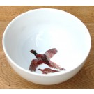 Jersey Pottery Pheasant 15cm Bowl by Richard Bramble