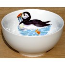 Puffin Swimming 15cm Bowl by Richard Bramble