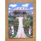 Delphi Club from the entrance, Greetings Card