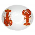 Richard Bramble Red Lobster 18cm Oval Bowl