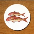 Richard Bramble Red Mullet Coaster