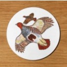 Richard Bramble Grey Partridge Coaster