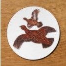 Richard Bramble Red Grouse Coaster