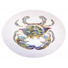 Richard Bramble Blue Crab 27cm Oval Bowl