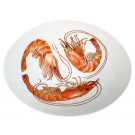 Richard Bramble Shrimp & Prawn 27cm Oval Bowl