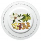 Almonds 30cm Plate by Richard Bramble