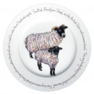 Blackface Sheep 30cm Plate