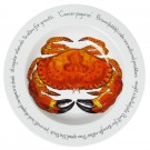 Richard Bramble Crab 30cm Deep Rimmed Bowl