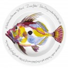 Richard Bramble John Dory 30cm Deep Rimmed Bowl