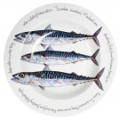 Richard Bramble Mackerel 30cm Deep Rimmed Bowl