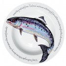 Richard Bramble Salmon 30cm Deep Rimmed Bowl