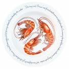 Richard Bramble Shrimp & Prawn 30cm Deep Rimmed Bowl