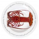 Spiny Lobster 30cm Deep Rimmed Bowl by Richard Bramble