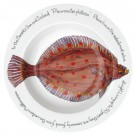 Richard Bramble Plaice 30cm Deep Rimmed Bowl