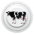 Holstein-Friesian Cow 30cm Plate by Richard Bramble