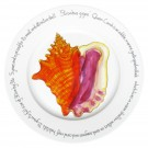 Richard Bramble Conch Shell 30cm Flat Rimmed Plate