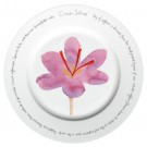Saffron 30cm Plate by Richard Bramble
