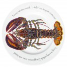 Richard Bramble North American Lobster 30cm Flat Rimmed Plate