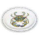 Richard Bramble Blue Crab 39cm Oval