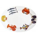 Richard Bramble Fish & Shellfish 39cm Oval