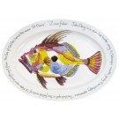 Richard Bramble John Dory 39cm Oval Plate