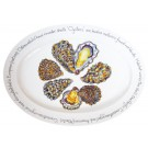 Richard Bramble Oysters 39cm Oval Plate