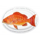 "Richard Bramble Red Snapper 39cm Oval (15.4"")"