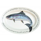 "Richard Bramble Salmon 39cm Oval (15.4"")"