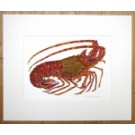Spiny Lobster and Crawfish Painting