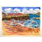 Rozel Harbour, Jersey Original Painting