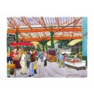 Richard Bramble Borough Market main entrance Greeting Card