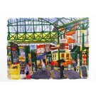 Richard Bramble Borough Market towards Neals Yard Greeting Card