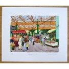 Borough Market - Main Entrance Print