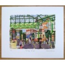 Borough Market - towards Neal's Yard Dairy Print