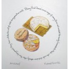 Richard Bramble Bloomy Rind Cheeses Print