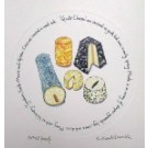 Richard Bramble Goats Cheeses Print