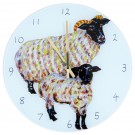 Blackface Sheep Clock