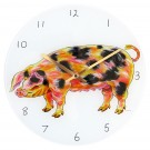 Gloucestershire Old Spot Pig Clock by Richard Bramble