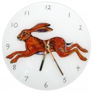 Leaping Hare Clock by Richard Bramble
