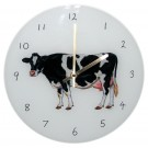 Holstein Friesian Cow Clock by Richard Bramble